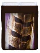 Macro Pheasant Duvet Cover