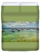 Mactan Island Bay Duvet Cover