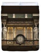 Macy's Clock Duvet Cover