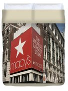 Macy's Department Store Duvet Cover