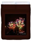 Macy's July 4th Fireworks New York City  Duvet Cover