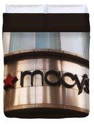 Macys Signage Duvet Cover