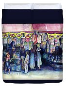 Mad Man Of Market And Main Singapore Duvet Cover