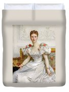 Madam The Countess Of Cambaceres Duvet Cover