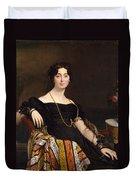 Madame Jacques-louis Leblanc. Francoise Poncelle Duvet Cover