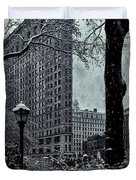Madison Square And The Flatiron Building Duvet Cover