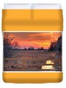 Madison Sunset Duvet Cover