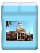 Madison's Morgan County Courthouse Duvet Cover