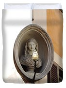 Madonna Watches Duvet Cover