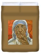Madre Teresa Di Calcutta Duvet Cover