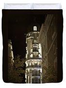 Madrid At Night Duvet Cover