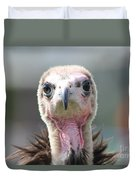 Maggee The Hooded Vulture Duvet Cover