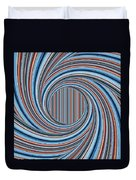 Magic Colorful Abstract Twisted Background Duvet Cover