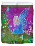 Magic Is All Around Duvet Cover by The Art With A Heart By Charlotte Phillips