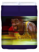Magic Johnson Duvet Cover