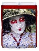 Magic Lady Goddess Duvet Cover