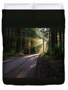 Magic Of Redwood Duvet Cover