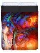 Magic Shell 2 Duvet Cover by Rona Black
