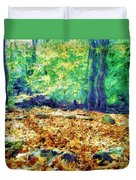 Magic Stone Circle Duvet Cover