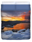 Magic Sunset Duvet Cover