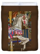 Magical Carrsoul Horse Duvet Cover