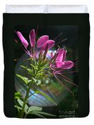 Magical Cleome Duvet Cover