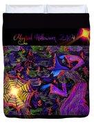 Magical Halloween 2014 V3 Duvet Cover