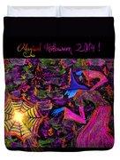 Magical Halloween 2014 V4 Duvet Cover