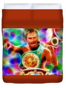 Magical Manny Pacquiao Duvet Cover