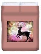 Magical Reindeers Duvet Cover