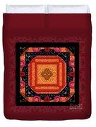 Magical Rune Mandala Duvet Cover