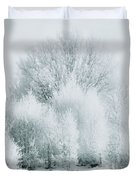 Magical Snow Palace Duvet Cover