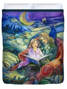 Magical Storybook Duvet Cover by Jen Norton