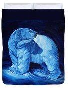 Polar Bear Art Blue Prince Lord Of The North Duvet Cover