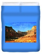 Magnificent Butte Duvet Cover by Marty Koch