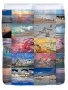 Magnificent Coastal North Carolina Duvet Cover