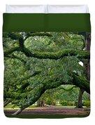 Magnificent Oak Alley Tree Duvet Cover