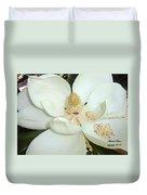 Magnolia Love Duvet Cover
