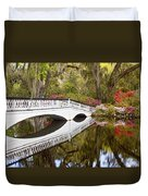 Magnolia Gardens' Bridge Duvet Cover