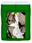 Magnolia In Profile Duvet Cover