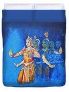 Mahishaasura Mardini Duvet Cover