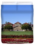 Main Quad Stanford California Duvet Cover