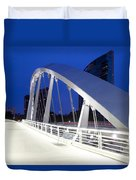 Main Street Bridge Duvet Cover