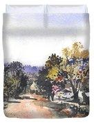 Main Street Ukarumpa Duvet Cover