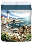 Maine Attraction Duvet Cover