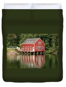 Maine Boat House Duvet Cover