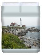Maine Coastline  Duvet Cover