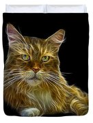 Maine Coon Cat - 3926 - Bb Duvet Cover