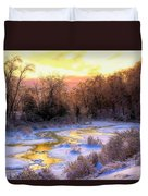 Maine Morning Inspiration Duvet Cover