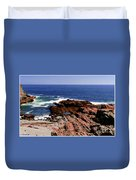 Maine Seascape Duvet Cover